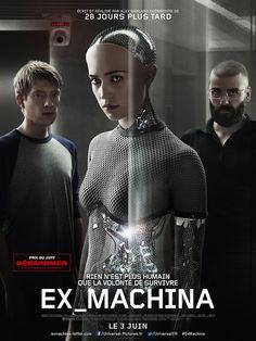 Critique de Ex Machina de Alex Garland en salles le 3 juin 2015 via Universal
