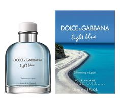 Dolce & Gabbana have launched Light Blue Sunset in Salina (shown above; a flanker to Light Blue) and Light Blue Pour Homme Swimming in Lipari (shown below; a flanker to Light Blue Pour Homme). Perfume Light Blue, Best Fragrance For Men, Best Fragrances, Light Blue Dolce Gabbana, Blue Sunset, Perfume Reviews, Ten, Face And Body, Cologne