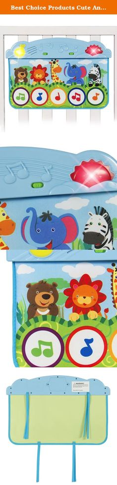 10 Cheerful Child Jumbo Sized Animal Carnival Musical Playmat 3 Modes to Play