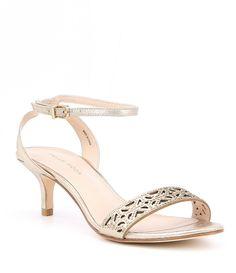2f59de6e2dccb1 Pelle Moda Otis2 Suede Rhinestone Detail Ankle Strap Dress Sandals