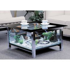 Aquarium table.