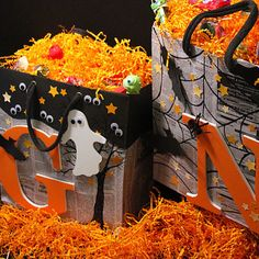 Bags Made With Recyclables, trick or treat,  Christmas,  birthday. .....great recycle idea.