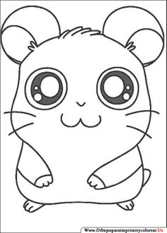 Hamtaro On Pinterest Coloring Pages Coloring And