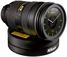 Perfect Wake-Up Call I want! Because it's Nikon's lens anniversary they have this give-away. A Nikkor lens alarm clock. Wake-up sound? The N...