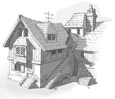 house drawings in pencil | Posted by Stephan at 6:40 AM 4 comments: