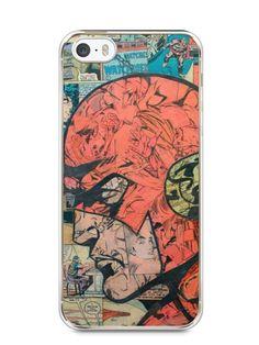 Capa Iphone 5/S The Flash Comic Books - SmartCases - Acessórios para celulares e tablets :)
