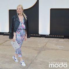 Aline Veiga veste Espaço de Moda.