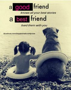 Friends are the family you choose.  To know or to have a good friend, you must first be one.