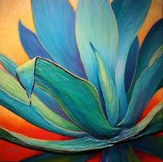 Succulence, Too! by Sandi Whetzel Desert Art, Southwest Art, Cactus Art, Wow Art, Arte Popular, Leaf Art, Painting Inspiration, Flower Art, Watercolor Art