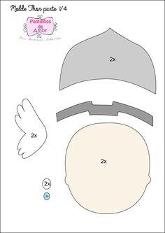 molde máscara thor - Pesquisa Google