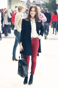 One of the nice looks of the day from lookbook!