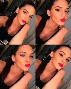 Kendall jenner makeup.