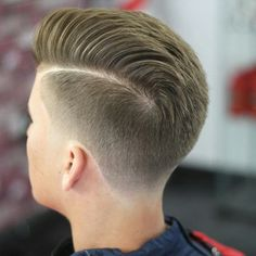 Providing you with the #goodlookoftheday is PA Barber @donnyblends for this #modernclassic cut. Living up to his name with a #wellblended taper and accenting this #gentlemanscut with #matte finish...