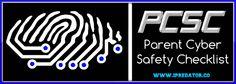 "Parent Cyber Safety Checklist | Internet Safety | iPredator Visit iPredator to purchase or learn about the ""Parent Cyber Safety Checklist [PCSC]"" authored by iPredator Inc. founder, Dr. Michael Nuccitelli.  https://www.ipredator.co/parent-cyber-safety-checklist/"