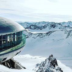The perfect ski day includes a nice lunch. Preferably with a great view as well. Like on the at a altitude. Ski Slopes, Ski Fashion, Winter Is Here, Great View, Mount Everest, Skiing, Snow, Photo And Video, Mountains