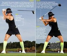 Golf School Want to improve your driver? Michelle Wie, 2014 U. Women's Open champion, offers these steps that will help improve your drive swing and accuracy. Michelle Wie, Golf Videos, Golf Instruction, Golf Putting, Golf Exercises, Golf Tips For Beginners, Perfect Golf, Look Here, Golf Quotes