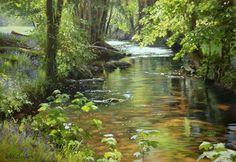 Peter Barker painting UK