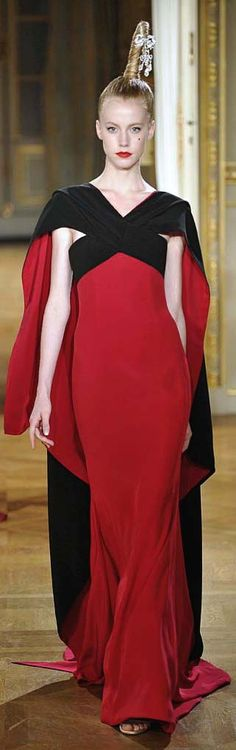 ~ Living a Beautiful Life ~ Alexis Mabille - Couture - Fall-winter Beauty And Fashion, Red Fashion, Couture Fashion, Runway Fashion, High Fashion, Alexis Mabille, Beautiful Gowns, Beautiful Outfits, Beautiful Life