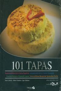 Este libro no trata de técnicas novedosas, ni de recetas complejas, vanguardistas, o rompedoras, ni siquiera de productos extraños o exóticos. Es sencillamente un recetario muy completo de la parte más popular de la gastronomía española: las tapas. Recetas que a diario se  viene elaborando desde hace años en bares y tabernas de España http://www.imosver.com/es/libro/101-tapas_1219980003