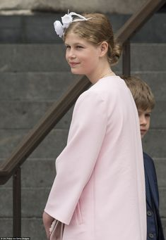 The young royal is clearly growing in confidence as she gets used to being in the spotlight