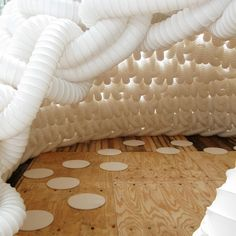"""still thinking about """"dressing that ceiling"""" here: Ventilation Pipes"""
