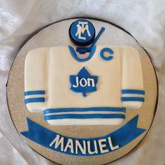 Leafs Jersey Cake Shaped Cakes Pinterest Toronto