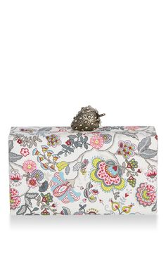 **Edie Parker** Jean Strawberry Floral Clutch | SS 17