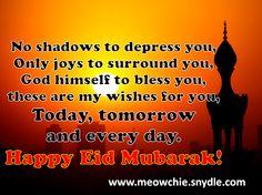 Eid Wishes, Eid Mubarak Greetings, Eid Messages, Eid Quotes for Eid Mubarak Cards