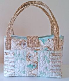 Embroider  Sew :: Jelly Roll Purses - Embroidery Garden In the Hoop Machine Embroidery Designs
