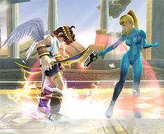 Smash Bros. DOJO!!  She will shoot your feet! Lol
