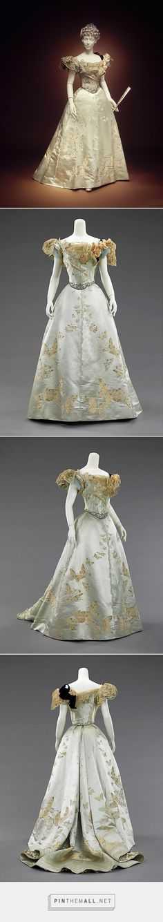 Ball gown by House of Worth 1898 French | The Metropolitan Museum of Art
