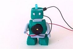 Play dough circuits 3: make fun Robot sculptures in STEM activities with electrical circuitry (Via http://abc.net.au)