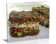 Low Fat Raw Vegan Dinners