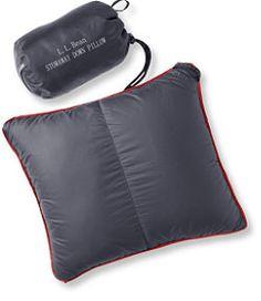 50e2326db27b  LLBean  Stowaway Down Pillow with DownTek Bushcraft Backpack
