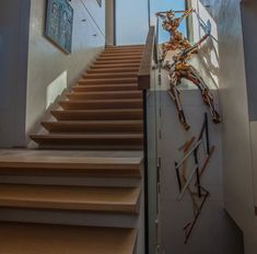 Coogee commission Theater, Stairs, Sculpture, Painting, Home Decor, Ladders, Homemade Home Decor, Ladder, Staircases