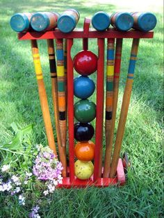 CROQUET:    Lawn Life...The Andrew's....A Bell Oak, Michigan Memory and Glenwood