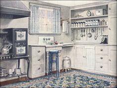 Craftsman Mission Style Kitchen Cabinets 1920 S Style Kitchen ...