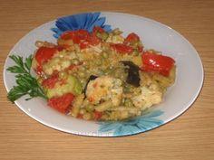 Ghiveci de legume la cuptor Guacamole, Mexican, Meat, Chicken, Breakfast, Ethnic Recipes, Food, Beef, Morning Coffee