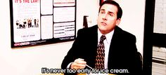 He knew things. | The 37 Wisest Things Michael Scott Ever Said