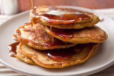 Spiced Pumpkin-Pecan Pancakes - 21 Recipes to Make with Leftover Pumpkin Purée - Pictures