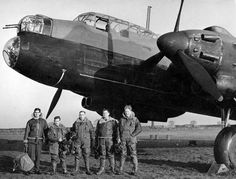 Avro Manchester  RAF Manchester aircraft and crew. Although this aircraft was plagued throughout its service with troublesome engines, the Manchester eventually developed into the Lancaster - probably the best bomber of World War II