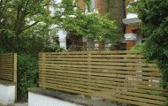 Landscape Gardening Trellis & Fencing - Abstract Landscapes Ltd