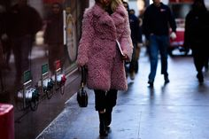 New York Fashion Week Is a Masterclass in Staying Chic During a Blizza Photos | W Magazine