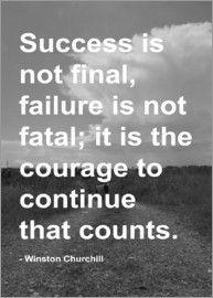 Finlay and Noa - Zitat Motivation - Churchill
