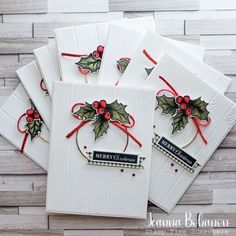 Christmas Paper Crafts, Homemade Christmas Cards, Stampin Up Christmas, Homemade Cards, Handmade Christmas, Xmas Cards, Holiday Cards, Stampin Up Weihnachten, Winter Cards