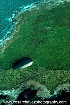 Hidden beach in Marieta island. Punta Mita, Riviera Nayarit, México