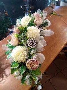 Fall Flowers, Fresh Flowers, Grave Decorations, Table Decorations, Silk Flower Arrangements, Funeral Flowers, Ikebana, Floral Wreath, Wreaths