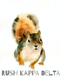Be Squirrel-y. Be KD.
