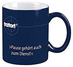 Beim sonntäglichen #Tatort gehört die Pause natürlich zum Dienst. Diese coole Tasse ist das perfekte #Geschenk für Tatort-Junkies