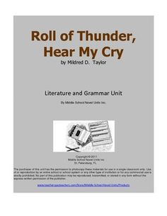 Roll of thunder hear my cry theme essay